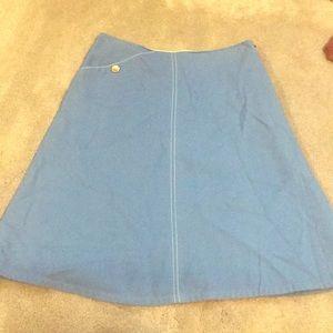 Lauren Moffatt a line skirt